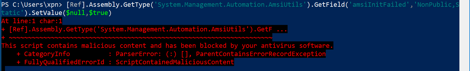Exploring PowerShell AMSI and Logging Evasion – MDSec