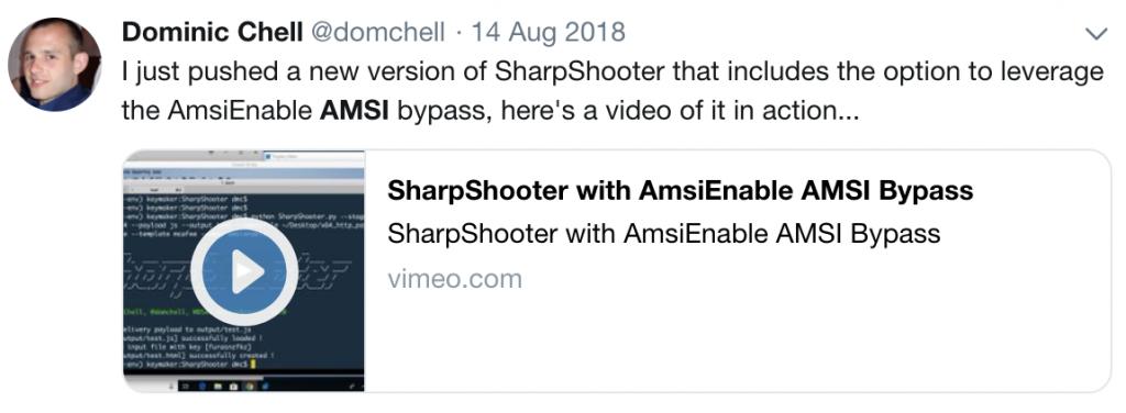 Macros and More with SharpShooter v2 0 – MDSec