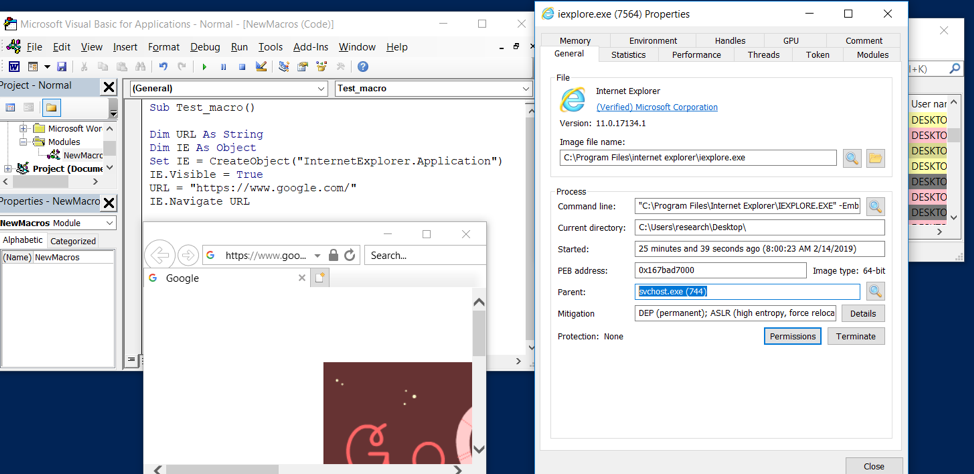 External C2, IE COM Objects and how to use them for Command and