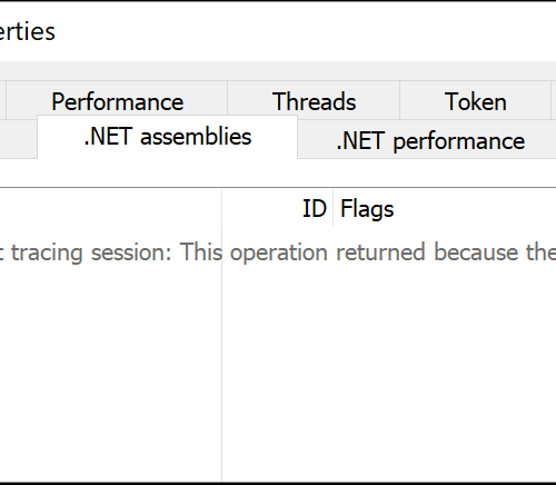 Hiding Your .NET – ETW