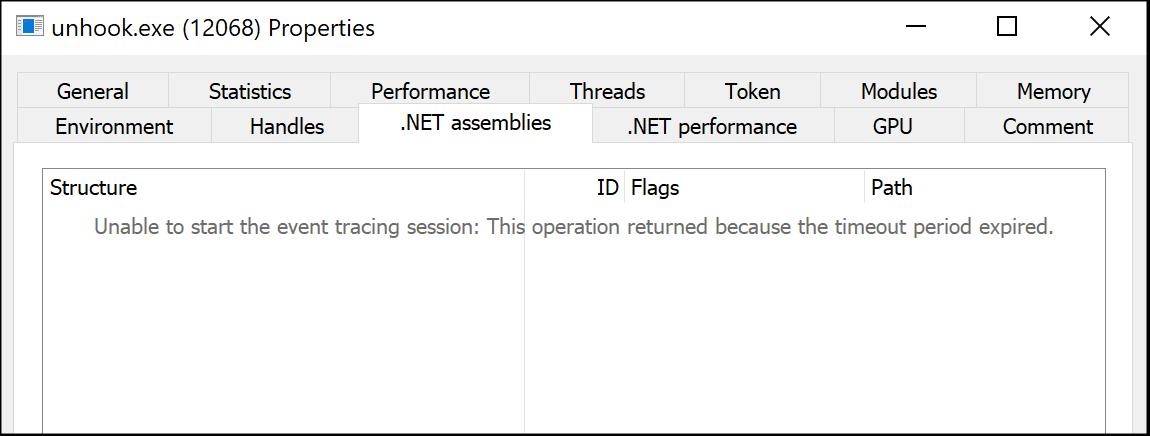 Hiding Your .NET – ETW